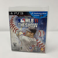 MLB 11: The Show Sony PlayStation 3 PS3 Game Complete With Manual Tested