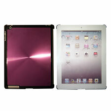 iPad 3 Purple Quality Shining Aluminium Hard Back Case Cover for Elegant Look