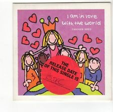 (FA856) Chicken Shed, I Am In Love With The World - 1997 DJ CD