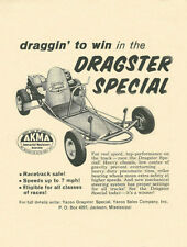 Vintage & Very Rare 1960 Yazoo Dragster Special Go-Kart Ad