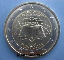 Portugal 2 Euro 2007 Römische Verträge Roma Gedenkmünze commemorative coin