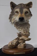 Mill Creek Studios - 75030 Out of the Shadows - Wolf Sculpture - Joe Slockbower