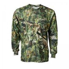 Fishouflage Bass Fishing Long Sleeve Men's T-Shirt, Camouflage