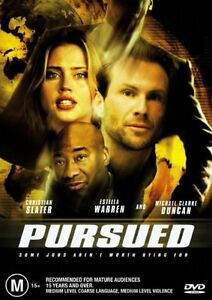 Pursued DVD TRACKED POST