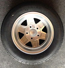 "13"" Alloy Wheel, Spare Mag Wheel, New Tyre/Rim (Suits Boat, Box and Car Trailer)"