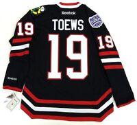 JONATHAN TOEWS CHICAGO BLACKHAWKS NHL 2014 STADIUM SERIES REEBOK PREMIER JERSEY