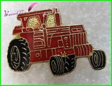 Pin's Un Tracteur  Couleur Rouge Tractor Ferme Farmer  #F3