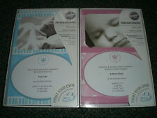 Wilton Baby Photo Announcements 50 ct New Boy Little Prince
