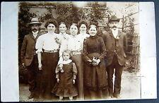 GERMANY~1910 Gotschendorf b. Milmersdorf ~ Fam. LOHNERT ~ Real Photo PC  RPPC
