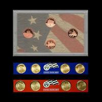 2009 P+D+S Lincoln Bicentennial Mint Proof Set (P+D in Satin Mint Strips)