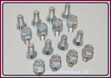 16 Radschrauben Radbolzen für Alufelgen M12 x 1,5 x 24 mm Kegelbund 60°