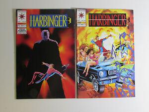 Harbinger Lot of 2 #21,24 Valiant Comics (1993) NM 1st Print Comic Books