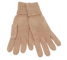Codello 32098316 Poetry Grunge Knit Gloves Beige Alpaca Wool New 18
