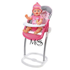 ZAPF CREATIONS Baby Born High Chair  *  Brand New