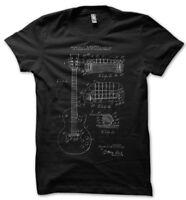 Gibson Les Paul Patent T-Shirt Black S-XXL