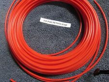 1/8 Pneumatic Polyethylene Tubing for Push IN Fittings Red 10 FT PE021-R