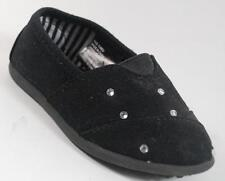 NEW Girls Toddlers JUMPING BEANS MALTA Black Slip On Flats Shoes SZ 9