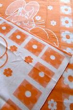 """coperta bambino """" Leprotto Arancione """" 100% cotone! prodotto in Germania"""