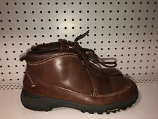 Columbia Kiwanda Mens Leather Ankle Chukka Casual Boots Size 9 Brown