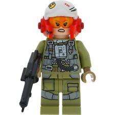 LEGO Star Wars Minifigur A-Wing Pilot Tallissan Lintra mit GALAXYARMS Waffe