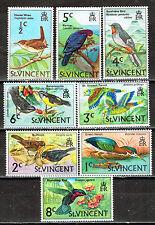 St. Vincent Island Tropical Fauna Birds set 1972 MLH