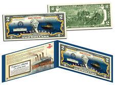 TITANIC Ship Famous Nighttime Iceberg Image 100th Anniversary Genuine $2 US Bill