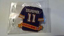 2001 Daunte Culpepper Jersey Pin Dodge SGA Minnesota Vikings Sealed