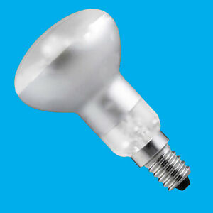 40W R50 Dimmable Clear Reflector Spotlight, Lava Lamp Light Bulb, SES E14
