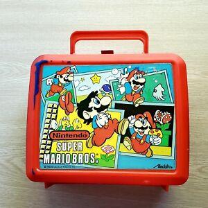 🔥1988 Nintendo Super Mario Bros. plastic lunch box 🔥