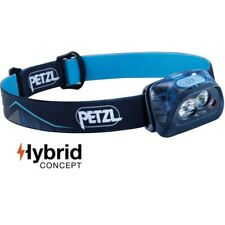 Lampe frontale Petzl Actik Hybrid bleue