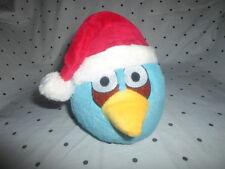 "Blue Santa Angry Birds 6"" Plush Soft Toy Stuffed Animal"