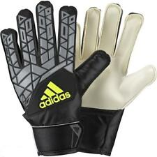Adidas Black Ace Junior Goal Keeper Football Kit Official Goalie Gloves Size 8