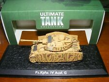 "Panzer IV Ausf G ""Ultimate Tank Collection""  1/72nd 20mm diecast tank BNIB"