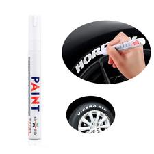 1x White Waterproof Permanent Paint Marker Pen Car Tyre Tire Tread Rubber Metal