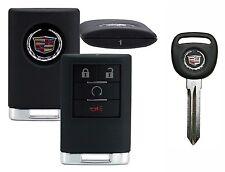 New OEM Cadillac Escalade Driver #1 Remote  22756463 + OEM Ignition Key 20985619