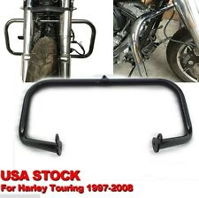Engine Guard Crash Bar For Harley Touring 97-08 (Road King FLHR/ Street Glide)Bl