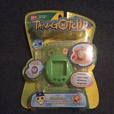 Tamagotchi RARE Gotchi Gear Tama Deco Kit CASE stickers crystals Lime Green