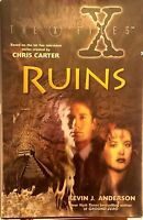 First Print: The X-Files IV Ruins Kevin J Anderson very good used cond hardcover