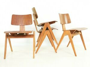 1950's Robin Day Hillestak Mid Century Dining Chair for Hille