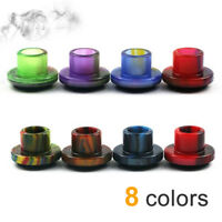 Resin Drip Tips for Cleito 120 with Rubber Seal Wide Bore Mouthpieces Caps *1