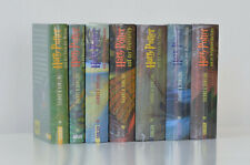 Harry Potter Band 1-7 komplett in Folie - J.K. Rowling | Gebunden gleiches Cover