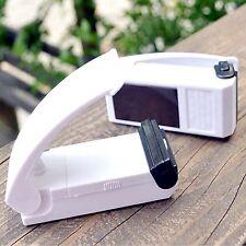 Ha portátil Blanco Mini Portátil de Mano Bolsa De Calor Herramienta De Sellado Plástico Impluse Sealer Nuevo