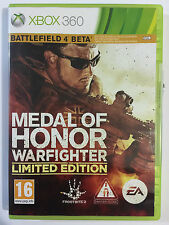 Medal of Honor war fighter limited Edition  Xbox 360 Game