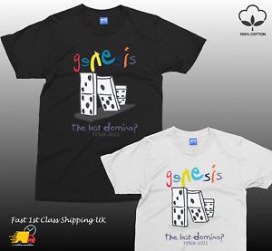 GENESIS The Last Domino T-shirt UK Album TOUR 2021 Music Concert - Unisex Tee