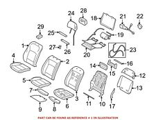 For BMW Genuine Seat Back Cover Front 52107255087