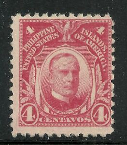 U.S. Possession Philippines stamp scott 291 - 4 cents issue of 1917 - mng #11