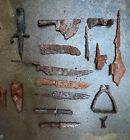 Bodenfunde aus Eisen, Militaria, Steigbügel, Klingen, Messer, Beil, Spore u.a...Vor 1800 - 34639