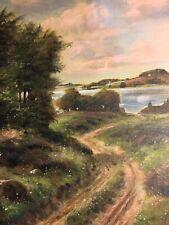 Børge Ruud - Danish landscape original oil on canvas