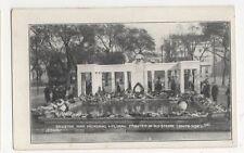 Brighton, War Memorial Floral Tributes in Old Steine Postcard, B178