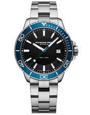 Raymond Weil Tango 300 Men's Quartz Steel Blue Diver Watch 8260-ST3-20001